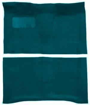 Auto Custom Carpet - Medium Blue 80/20 Loop Carpet - Image 1
