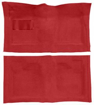 Auto Custom Carpet - Red/Black Tuxedo (Salt & Pepper) Carpet - Image 1