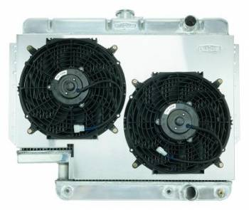 Cold-Case Radiators - Aluminum Radiator with Electric Fan Kit - Image 1