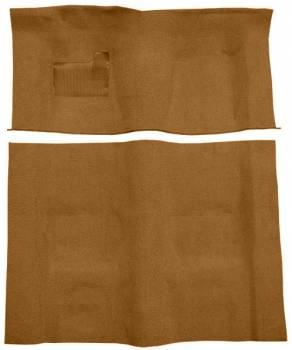 Auto Custom Carpet - Brown Cutpile Carpet - Image 1