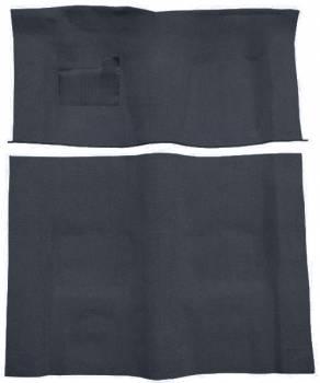 Auto Custom Carpet - Dark Blue Cutpile Carpet - Image 1