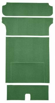 Auto Custom Carpet - Green 80/20 Loop Cargo Deck Carpet - Image 1