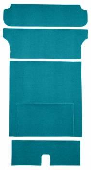 Auto Custom Carpet - Blue 80/20 Loop Cargo Deck Carpet - Image 1