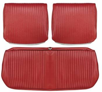 Distinctive Industries - Front Seat Covers Red - Image 1