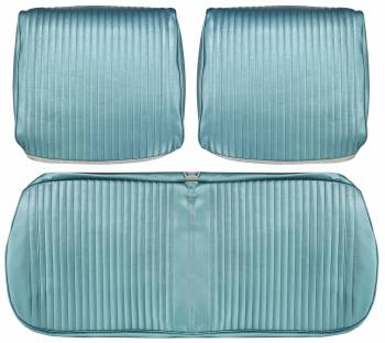 Distinctive Industries - Front Seat Covers Aqua - Image 1