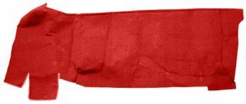 Auto Custom Carpet - Red 80/20 Loop Gas Tank Covers Carpet - Image 1