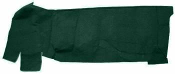 Auto Custom Carpet - Dark Green 80/20 Loop Gas Tank Covers Carpet - Image 1