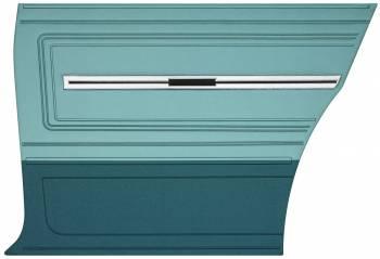 Distinctive Industries - Rear Panels Aqua (2-Tone) - Image 1