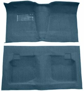 Auto Custom Carpet - Blue Tuxedo Carpet - Image 1