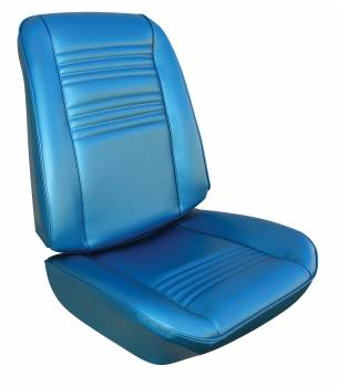 Distinctive Industries - Front Seat Covers Bright Blue - Image 1