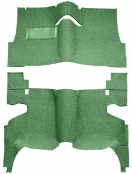 Auto Custom Carpet - Green 80/20 Carpet - Image 1