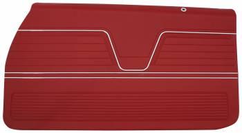 Distinctive Industries - Front Door Panels Red - Image 1