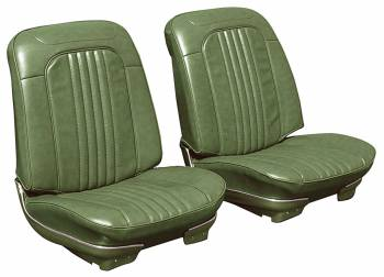 Distinctive Industries - Front Seat Covers Jade Green - Image 1