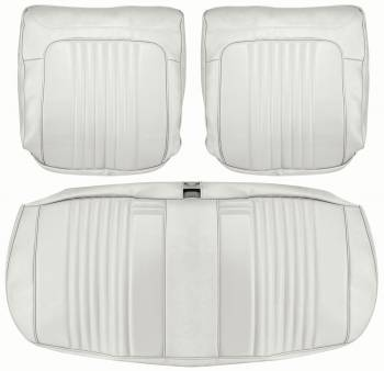 Distinctive Industries - Front Seat Covers White - Image 1