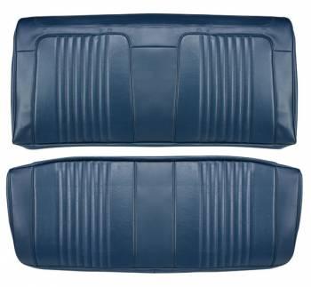 Distinctive Industries - Rear Seat Covers Dark Blue - Image 1