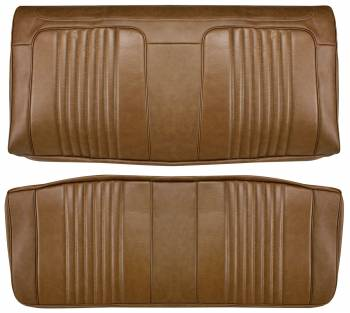 Distinctive Industries - Rear Seat Covers Dark Saddle - Image 1