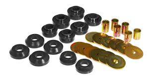 Prothane - Urethane Body Mounts with Hardware - Image 1