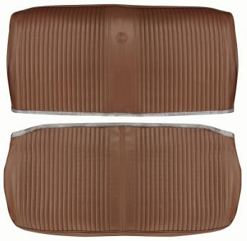 PUI (Parts Unlimited Inc.) - Front Seat Covers Saddle - Image 1