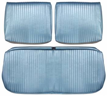 Distinctive Industries - Front Seat Covers Light Blue - Image 1