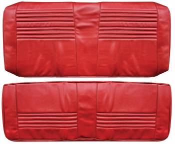 Distinctive Industries - Rear Seat Covers Red - Image 1