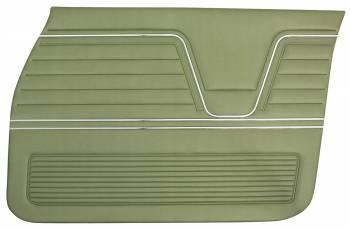 PUI (Parts Unlimited Inc.) - Front Door Panels Light Green - Image 1