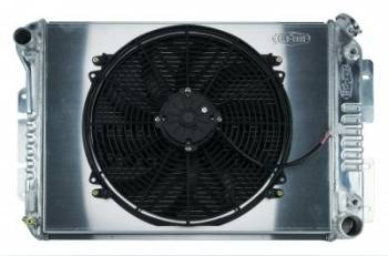 Cold Case Radiators - Aluminum Radiator with Electric Fan - Image 1