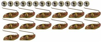 East Coast Reproductions - Fender Molding Clip Set - Image 1