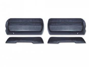 OER (Original Equipment Reproduction) - Front  Armrest Kit Black - Image 1