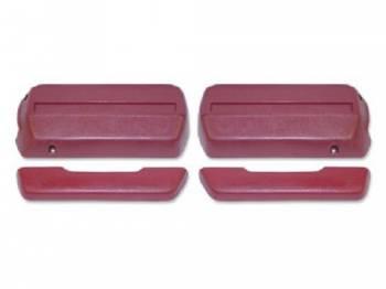 OER (Original Equipment Reproduction) - Front Armrests Red - Image 1