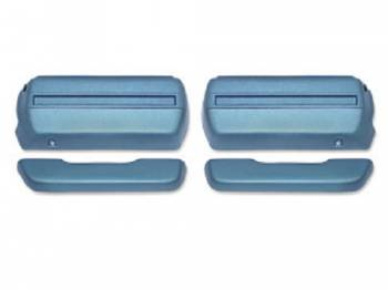 OER - Front Armrests Medium Blue - Image 1