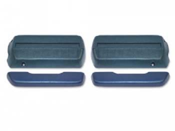 OER (Original Equipment Reproduction) - Front Armrests Dark Blue - Image 1