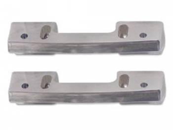 H&H Classic Parts - Front ArmRest Bases Chrome - Image 1
