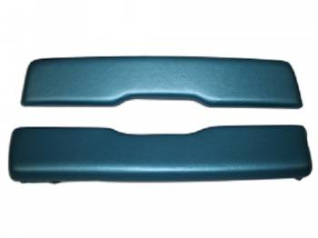 PUI (Parts Unlimited Inc.) - Arm Rest Pads Bright Blue - Image 1