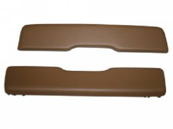 PUI (Parts Unlimited Inc.) - Arm Rest Pads Saddle - Image 1