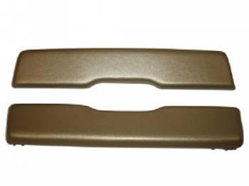 PUI (Parts Unlimited Inc.) - Arm Rest Pads Gold - Image 1