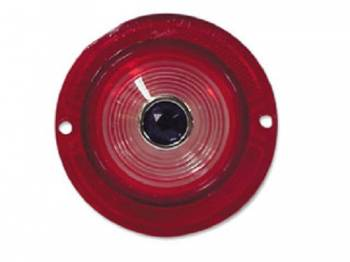 H&H Classic Parts - Backup Light Lens with Blue Dot - Image 1