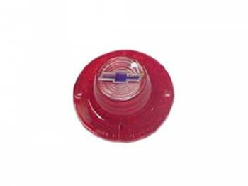 Trim Parts USA - Backup Light Lens with Blue Dot Bowtie - Image 1