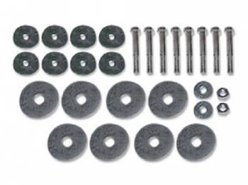 H&H Classic Parts - Body Mount Bolt Kit - Image 1