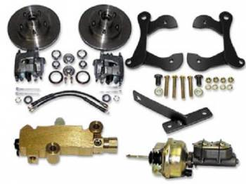 H&H Classic Parts - Disc Brake Conversion Kit with Stock Height - Image 1