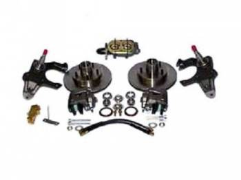 "H&H Classic Parts - Disc Brake Conversion Kit with 2"" Drop - Image 1"
