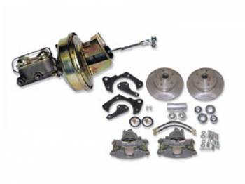 H&H Classic Parts - Front Power Disc Brake Conversion Kit - Image 1