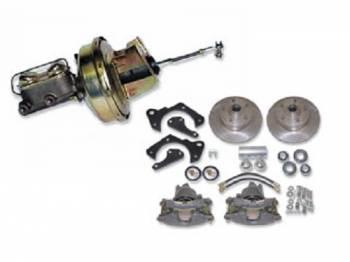 H&H Classic Parts - Front Power Disc Brake Conversion Kit - Image 1