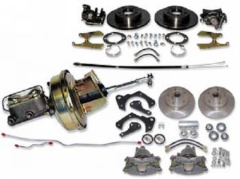 H&H Classic Parts - Power 4-Wheel Disc Brake Conversion Kit - Image 1