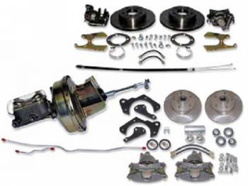H&H Classic Parts - Power 4-Wheel Disc Brake Conversion Kit - Image 1