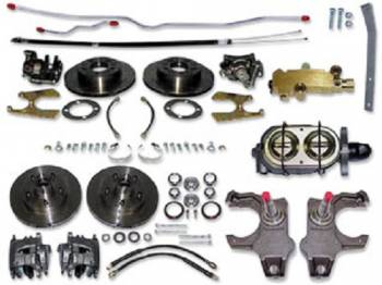 H&H Classic Parts - Manual 4-Wheel Disc Brake Conversion Kit - Image 1