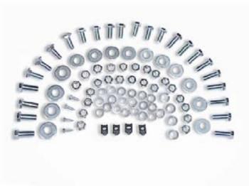 H&H Classic Parts - Rear Bumper Bolt Kit - Image 1