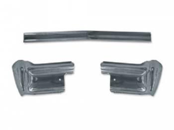 Dynacorn International LLC - Rear Chrome Bumper (3 Piece Set) - Image 1