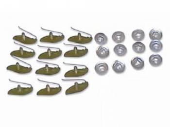 H&H Classic Parts - Trunk Molding Clip Set - Image 1