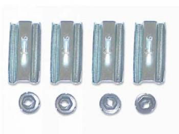 """H&H Classic Parts - Quarter Panel """"C"""" Molding Clip Set - Image 1"""