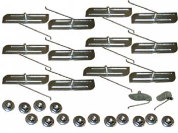 H&H Classic Parts - Fender Molding Clip Set - Image 1